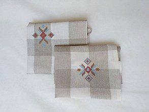 Polotovary - Výšivka krížiková 7,5 x 6,5 cm - 9604637_