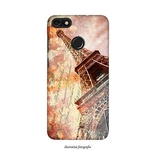 Kryt s motívom Eiffelovej veže pre Apple, Huawei, Samsung