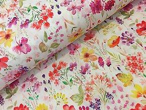 Textil - Bavlnená latka prekrasna dovoz Francuzko - 9603941_