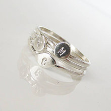 Prstene - Spolu_Sme (m)iní (3 prstienky / zvýhodnená cena) - 9602978_