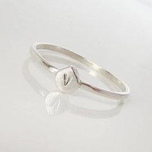 Prstene - Spolu_Sme (m)iní (Prstienok slza) - 9602981_