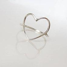 Prstene - Spolu_Sme (m)iní (Prstienok srdce spájajúce) - 9602990_