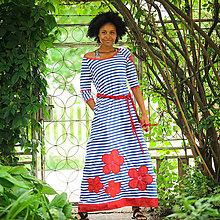 Šaty - Origo šaty lúka kvety  - 9605613_