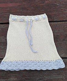 Detské oblečenie - Bavlnená suknička - 9604921_