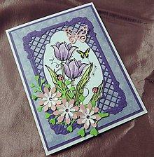 Papiernictvo - Tulipány k sviatku - 9605708_