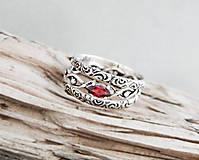 Prstene - 925/1000 sada strieborných prsteňov 1001 noc - 9608094_