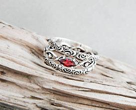 Prstene - sada strieborných prsteňov 1001 noc - 9608094_