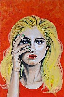 Obrazy - Maľované portréty... - 9606697_