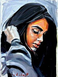 Obrazy - portrety - 9606429_