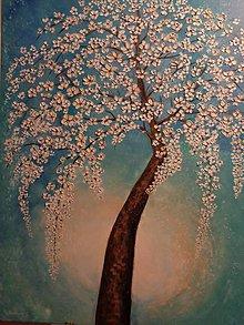 Obrazy - Zakvitnutý strom - 9606923_