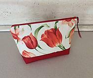 Taštičky - kapsička kvety - 9607768_