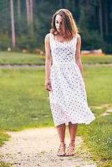 Šaty - Bavlnené šaty s ľudovým vzorom - 9606244_