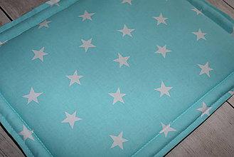 Textil - Detský vankúšik *hviezdičky* - 9606454_