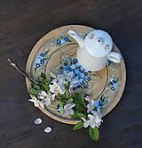 Pomôcky - Podnos s kvetmi - 9605922_