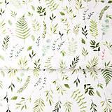 Textil - herbár, 100 % predzrážaná bavlna Španielsko, šírka 150 cm, cena za 0,5 m - 9606369_