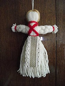 Drobnosti - bábika - motanka z bavlniek - 9607308_