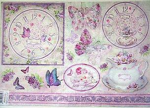 Papier - Ryžový papier 48x33 cm- Stamperia - 9606797_