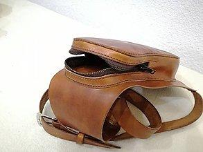 Tašky - kožená ľadvinka - 9605719_