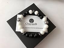 Náramky - Náramok Black&White / Black&White Bracelet - 9608063_
