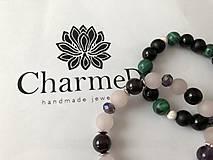 Náramky - Náramok Zelený Malachit / Green Malachite Bracelet - 9608184_
