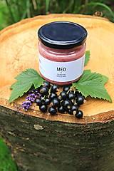 Potraviny - Med s čiernymi ríbezľami - 9607658_