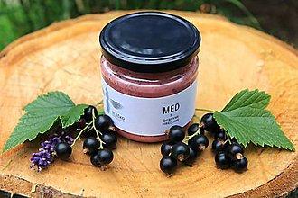 Potraviny - Med s čiernymi ríbezľami - 9607657_