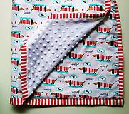 Úžitkový textil - Detská prikrývka - 9607681_