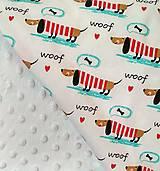 Úžitkový textil - Detská prikrývka - 9607682_