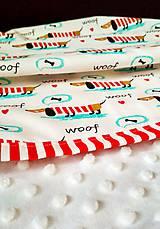Úžitkový textil - Detská prikrývka - 9607683_
