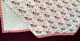 Úžitkový textil - Detská prikrývka - 9607684_