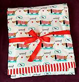 Úžitkový textil - Detská prikrývka - 9607685_