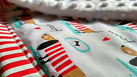 Úžitkový textil - Detská prikrývka - 9607686_