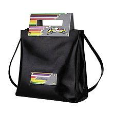 Veľké tašky - Dámska kabelka MARATHON II z pravej kože – čierna - 9605995_