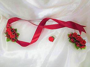 Sady šperkov - Svadobný vášnivý set - 9607042_