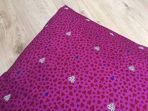 Úžitkový textil - lila vankúš - 9606253_