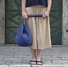 Veľké tašky - Taška...modrá - 9608453_