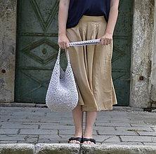 Veľké tašky - Taška...šedá - 9608562_