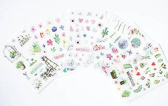 Papier - Akvarelový set - nálepky - 9608514_