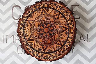 Dekorácie - Mandala podložka - 9608129_