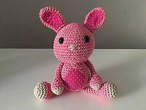 Hračky - Zajačik Pinky - 9609751_
