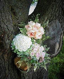 Dekorácie - svadobná kytica: aj na želanie - 9609156_