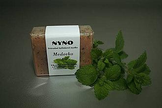 Drogéria - Prírodné bylinkové mydlo Medovka - 9611782_
