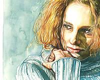 Obrazy - Akvarelový obraz na objednávku - 9611357_