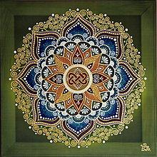 Obrazy - Mandala Harmónie, lásky a rodinnej súdržnosti - 9609235_