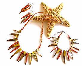 Sady šperkov - Sluneční paprsky - 9610742_