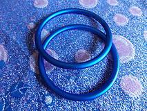 Modré Ring Sling krúžky