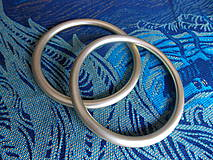 Polotovary - Zlaté Ring Sling krúžky - 9609329_