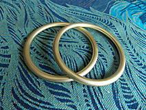 Polotovary - Zlaté Ring Sling krúžky - 9609330_