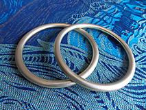 Polotovary - Zlaté Ring Sling krúžky - 9609331_