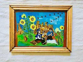 Obrazy - Obrázky na skle maľované - 9611895_